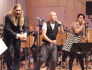 Ulf Wadenbrandt, Johan Boding och Sara Löfgren